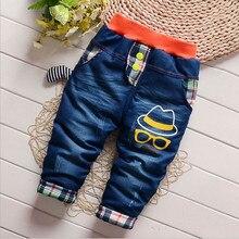 Pants Leggings Jeans Trousers Kids Girl Baby-Boy Winter Children Cartoon Denim Casual
