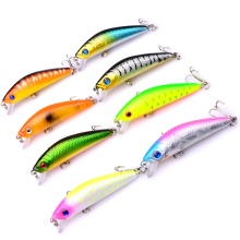 8pcs black minnow wobblers carp Fishing Lure 6cm 8g jerkbait wobbler artificial bait For fishing crankbait hard lure swimbait walk fish 1pcs 8cm 10g fishing lure hard bait carp fishing fresh water insect bait fake lure fishing jerkbait minnow crankbait