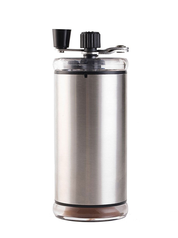 Adjustable Stainless Steel Hand Grinder Manual Coffee Bean Home Portable Stainless Steel