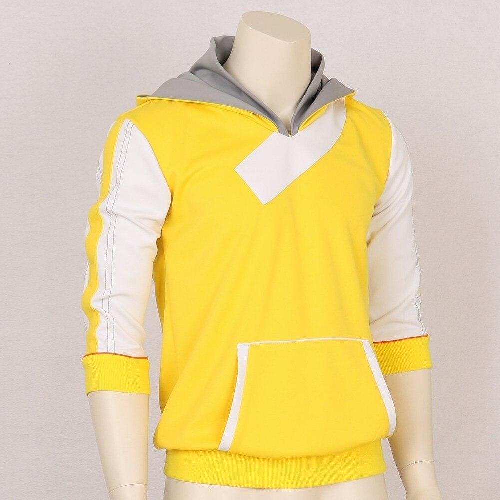 Pokemon Go Monster Trainer Yello Hoodie Hooded Fashion Logo Cosplay Costume Pullover Hoodie Sweatshirt Spring Autumn Version