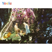 Yeele Merry Christmas Nice Gifts Sacred Decoration Photography Backdrops Personalized Photographic Backgrounds For Photo Studio polyester merry christmas room gifts photography backdrops for party photo studio portrait backgrounds props s 2626