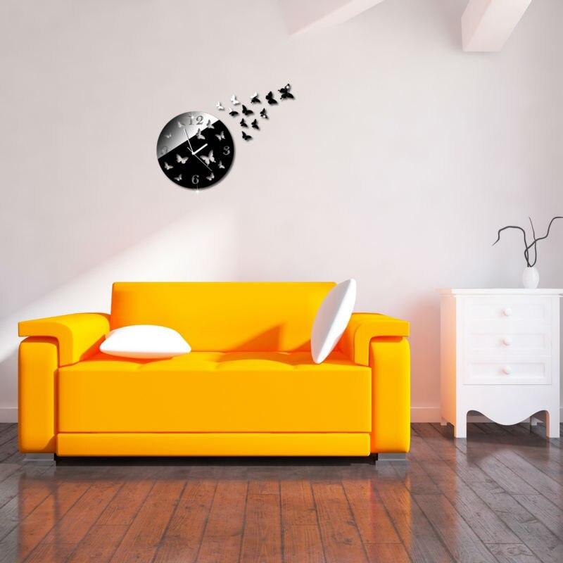 bricolage mur horloges montre le mur de la maison moderne