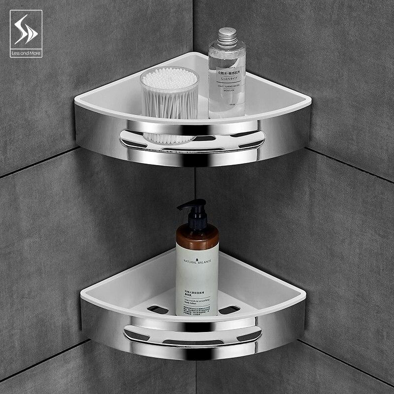 Badkamer plank wc vanity driehoek plank zuig muur type non geperforeerde muur hanger - 4