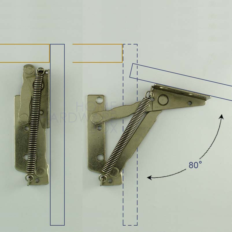 Bon Pair Of Cabinet Door Lift Up Flap Top Support Spring Kitchen Hinges Stay  Sprung In Cabinet Hinges From Home Improvement On Aliexpress.com | Alibaba  Group