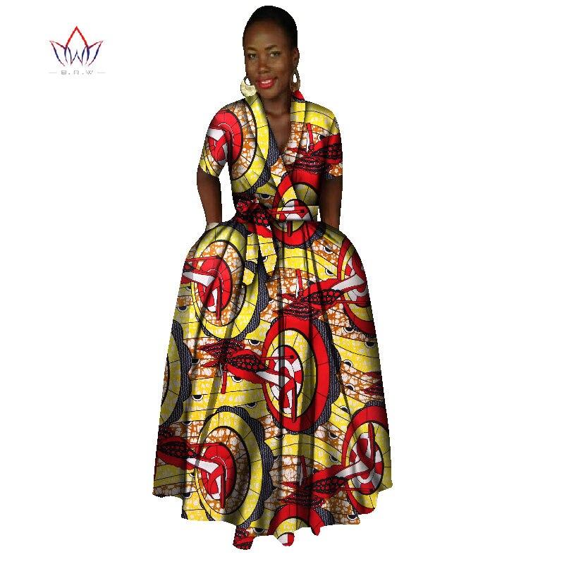 African Dress For Women Summer Vintage Maxi Dress Dashiki