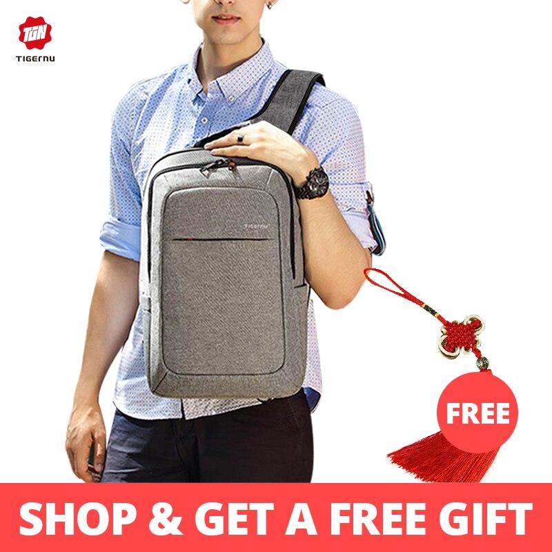 Tigernu Male Backpack Bag Brand 15.6 Inch Laptop Notebook Mochila for Men Waterproof Back Pack bag school backpack womenTigernu Male Backpack Bag Brand 15.6 Inch Laptop Notebook Mochila for Men Waterproof Back Pack bag school backpack women