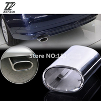 ZD 1pcs For BMW E90 E91 E92 E93 318i 318d Car Exhaust Muffler Tip Pipes High Quality Stainless Steel Tail Covers Accessories New