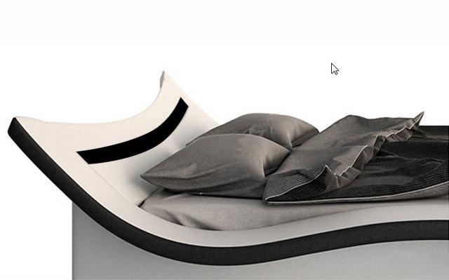 Genuine Leather Bed Frame   5