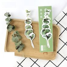 30pcs bookmark Vintage grass branch flower cactus book marker Office accessories School supplies separadores de libros CC675