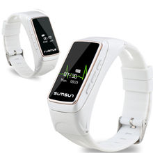 B7 smart watch bluetooth 4.0 наушники смарт браслет браслет монитор сердечного ритма активно фитнес-трекер для ios android