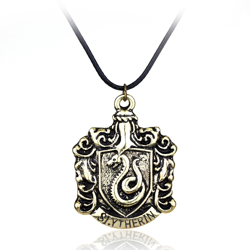 Fashion magic academy movie jewelry necklace vintage antique bronze fashion magic academy movie jewelry necklace vintage antique bronze animal symbol badge necklace for women and men in pendant necklaces from jewelry aloadofball Choice Image