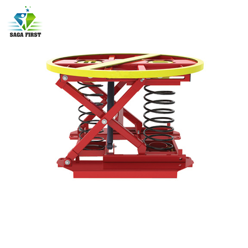 CE Approved Spring Style Electric Pallet Lift