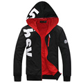 2017 Spring Autumn Designer Fashion Hoodies Sweatshirt Men Casual Slim Mens Hoodies And Sweatshirts (Asian Size)