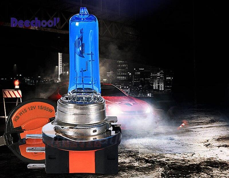 deechooll Canbus Car H15 64176 Halogen Bulbs Lights 55/15W for VW Amarok GOLF MK 6 7 F22 PGJ23t1 Head Daytime Lights Hi&Lo Beam