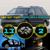 13X Car LED Interior Package Kit Map Dome Step Courtesy Trunk Cargo White Blue Red Light
