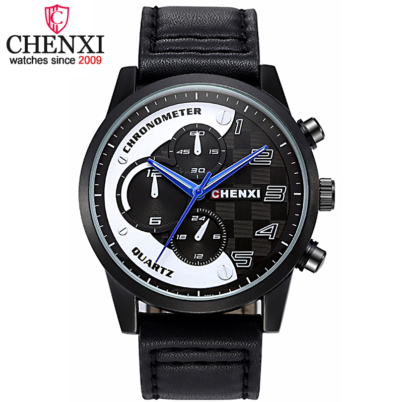 CHENXI Hot Luxury Fashion Casual Men Watches Men's Sports Watch Quartz Male Wristwatches Relogio Masculino Montre Homme xfcs xfcs