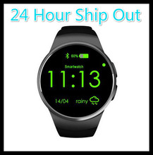 KingWear KW18 Bluetooth Smart Watch Full Screen Support SIM TF Card Smartwatch Phone Heart Rate for apple gear s2 huawei PK x10