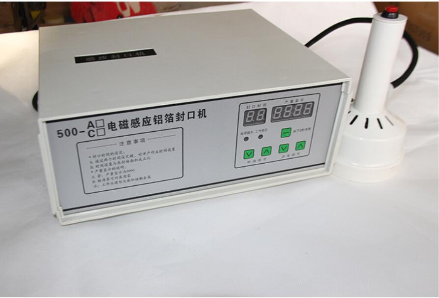 220 V tenuto in Mano induzione elettromagnetica di tenuta della macchina per il medico di plastica sigillante tappo di bottiglia di Alluminio macchina capsulatrice - 4