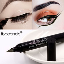 Ibcccndc New 6 Colors EyeLiner Liquid Pencil Quick Dry 2in1 Waterproof