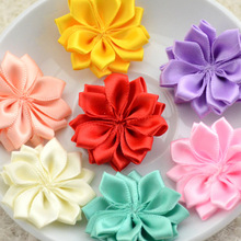 Yundfly 16 200pcs 16 Petaled Rosette Ribbon Flowers Used for Kids Adult Headband Hair Clips Diy Hair Accessories