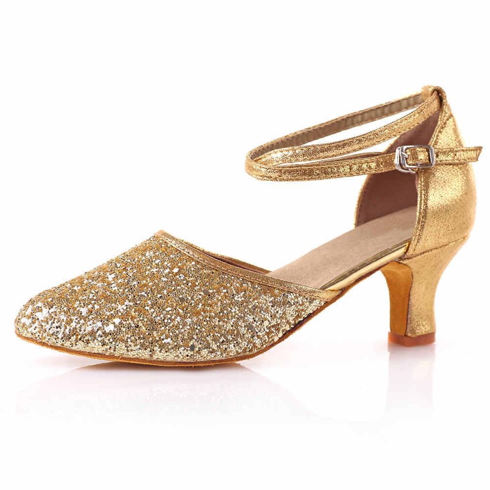 0afa7808b511 ... Latina zapatos de baile para las mujeres las niñas salón de baile  fiesta Tango Salsa zapatos