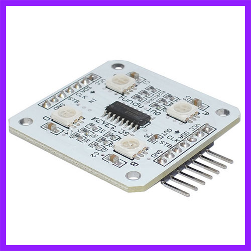 White RGB 5V 4xsmd 5050 LED Optical font b Module b font For font b Arduino
