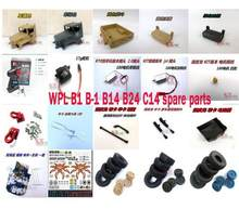 WPL B1 B-1 B14 B24 C14 Mini 4WD RC Crawler coche Original piezas set 2(China)