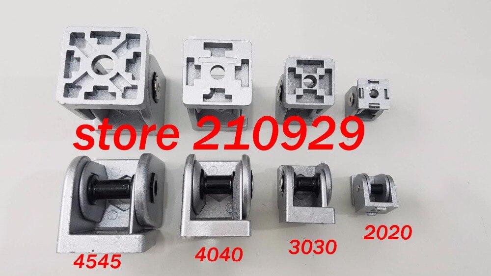 50pcs/pack 3030 movable hinge fixed angle support rotation range 180 degree  zinc alloy