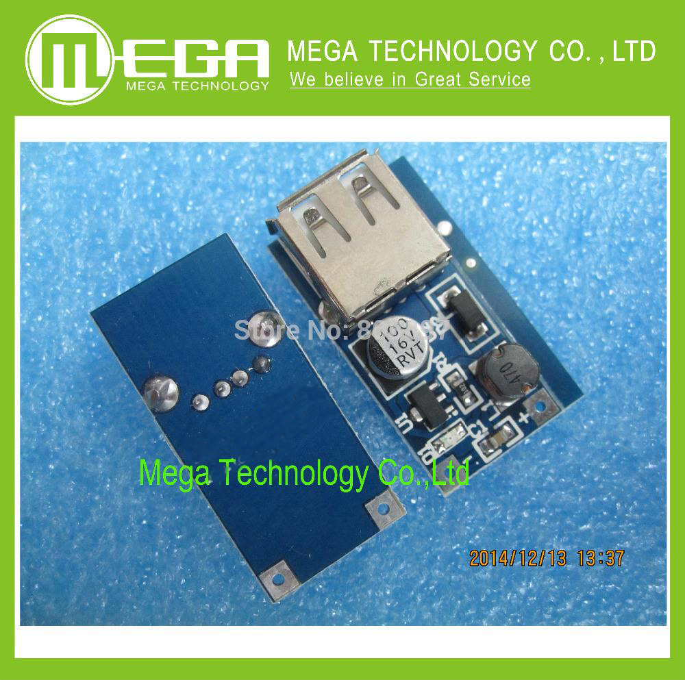 Free Shipping 10pcs/lot DC-DC Boost Module (0.9V ~ 5V) l 5V 600MA USB mobile power booster booster circuit board