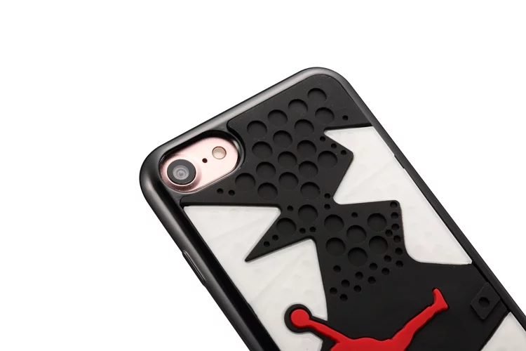 2018 classic Jordan 14 Shoe Sole Rubber case For iphone 7 8 High-quality three-dimensional pattern for iphone 8 4.7 cover