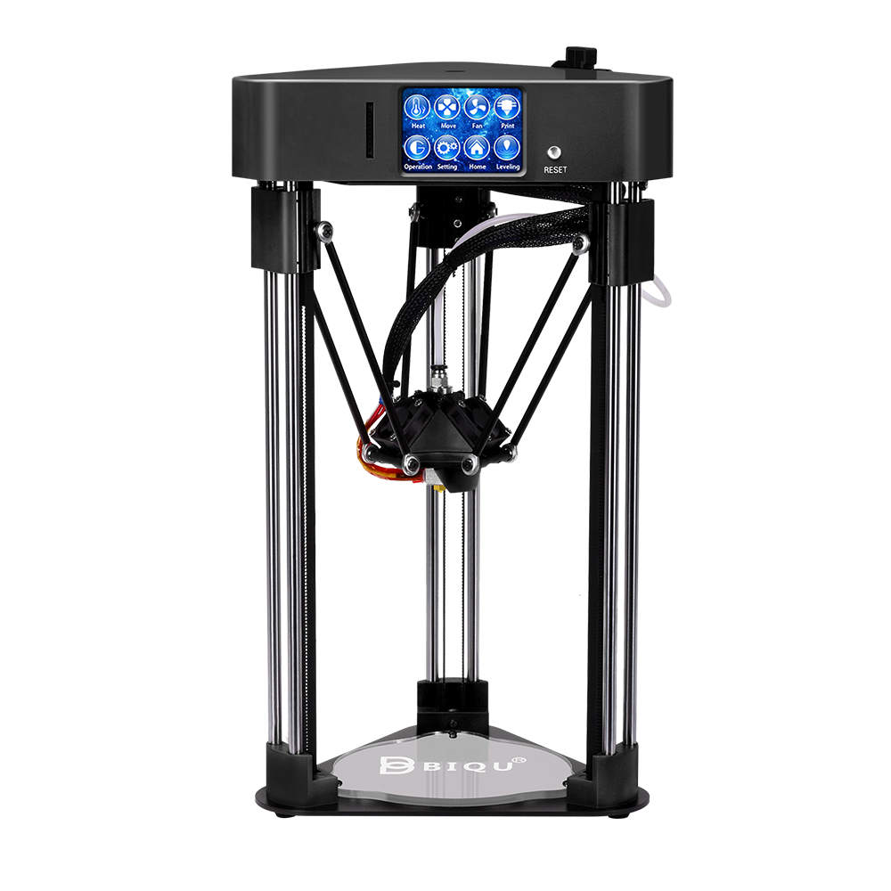 BIQU 3D impresora BIQU mago alta precisión Mini kossel escritorio impresora totalmente Asamblea con apagado reanudar 3D impresora