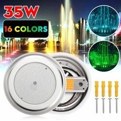 Onderwater Verlichting LED Zwembad Lights 16 Kleuren RGB 12V 45W Muur Gemonteerde Lamp IP68 Multi-color voor Aquarium Ligh