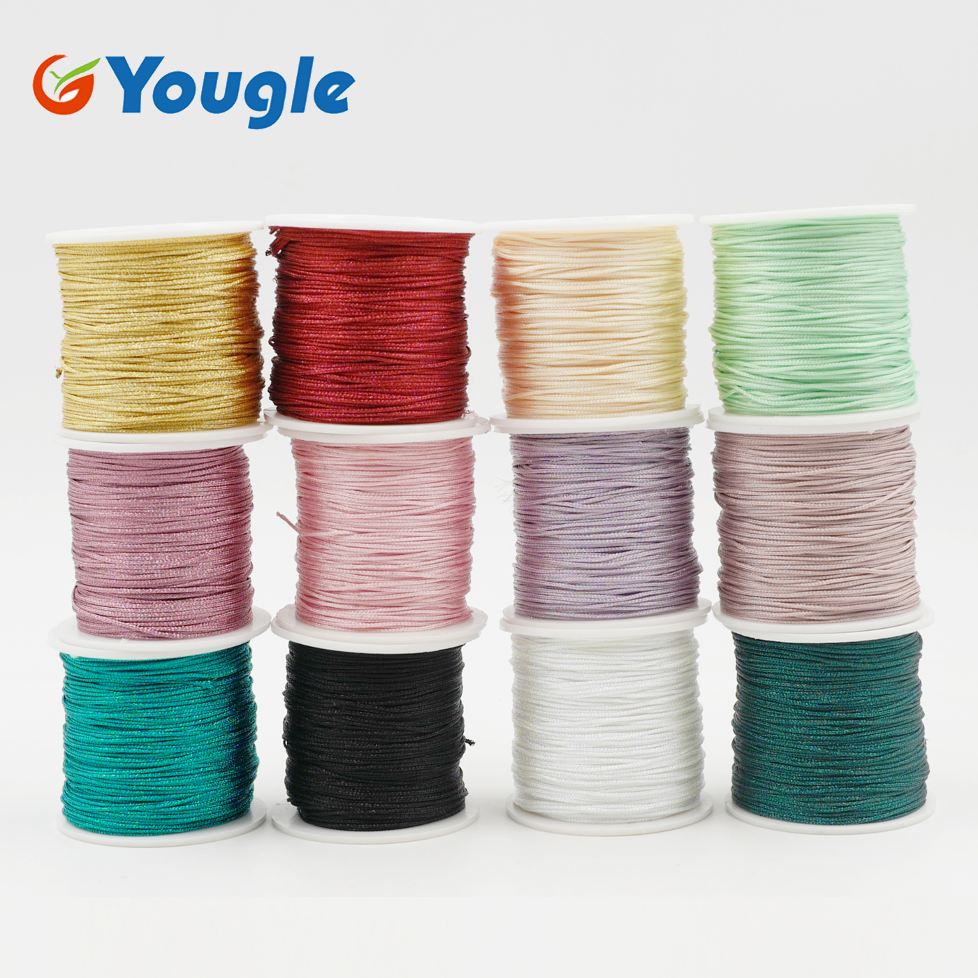 Yougle 100 Meters (328ft) PET Paracord Parachute Cord 1mm Diameter For DIY Paracord Bracelet Fishing Line