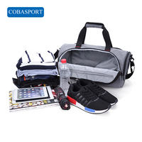 Outdoor Large Capacity Waterproof Gym Bags Sport Independent Shoes Storage Men Women Yoga Training Bag Portable Fitness Bag