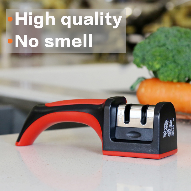 GRINDER Professional Carbide Ceramic Multifunction Tools Sharpening Machines amolador de faca Kitchen Knife Sharpener TAIDEA
