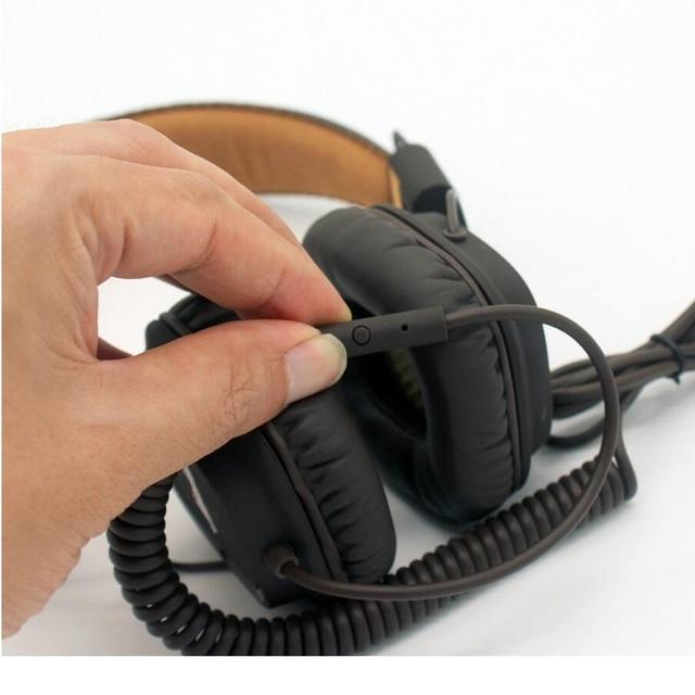 New Majors Headphones DJ Studio Headphones Deep Bass Noise Isolating headset Monitorring With Mic&Remote for smartphones