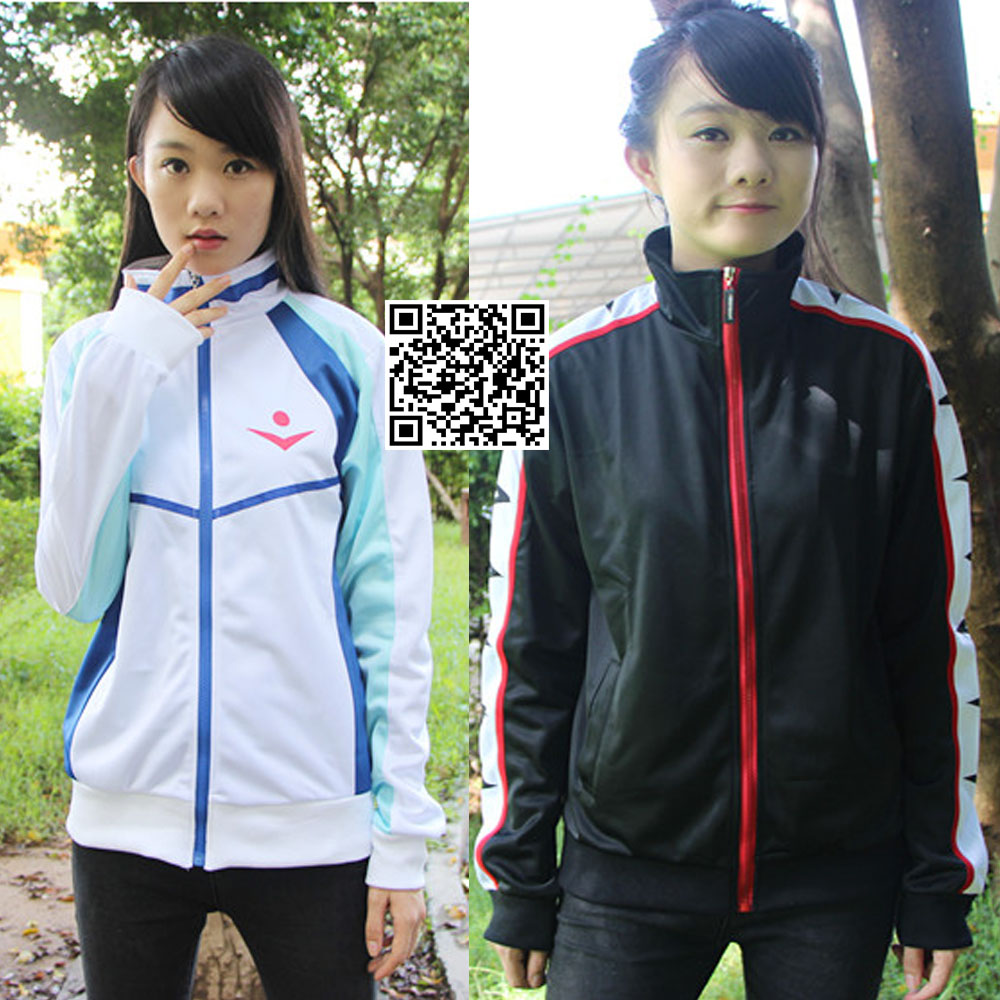 Cute Unicorn Anime Free! Iwatobi Coat Haruka Nanase Rin Cosplay Costume Unisex Jacket School Uniform mens clothes