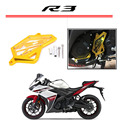 Motorbike CNC Aluminum Front Sprocket Chain Guard Cover Left Side Engine GOID For 2014 2015 2016 YAMAHA R3 R25