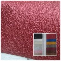 NEW Glitter Metallic Color Foil Grind Arenaceous PVC Synthetic Leather Fabric 20 Color Suitable For Decorative