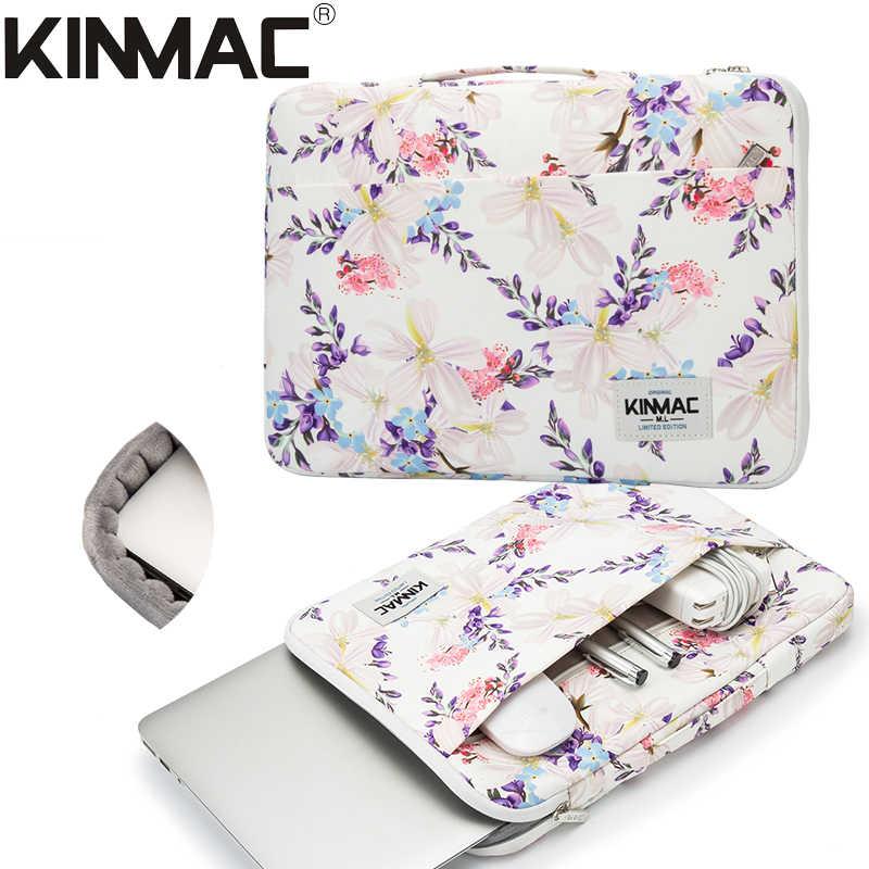 """2019 جديد العلامة التجارية Kinmac حقيبة كم حالة لأجهزة الكمبيوتر المحمول 12 """"، 13"""" ، 14 """"، 15"""" ، 15.6 """"، شنطة لحمل macbook Air Pro 13.3 ، 15,4 شحن مجاني KS022"""