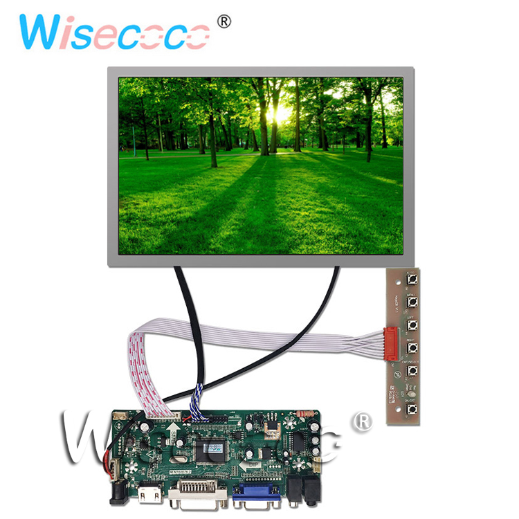 12.1 inch LCD screen TFT resolution 1280 * 800 with DVI HDMI speaker LVDS control driver board12.1 inch LCD screen TFT resolution 1280 * 800 with DVI HDMI speaker LVDS control driver board
