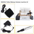 Pro Newest Tattoo & Permanent Makeup Machine Kit Permanent Eyebrow Lip Motor Pen Machine Make up Kit