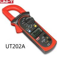 UNI T UT202A clamp meter 600A digital Current Meter dc current Voltmeter diagnostic Capacitance Tester NCV DC AC multimeters