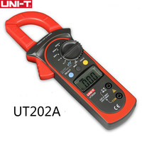 UNI T UT202A clamp meter 600A digital Current Meter dc current Voltmeter diagnostic Capacitance Tester NCV DC AC multimeters