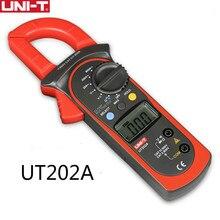 UNI-T UT202A clamp meter 600A digital Current Meter dc current Voltmeter diagnostic Capacitance Tester NCV  DC AC multimeters