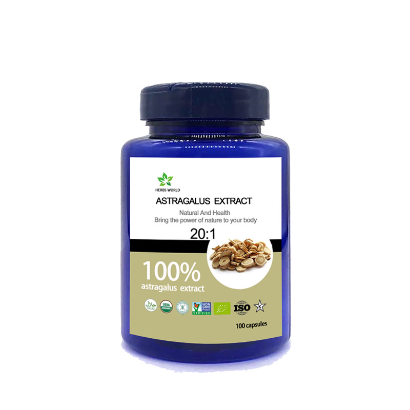 Natural Astragalus Extract  100pcs/bottle 100%  Astragalus Extract