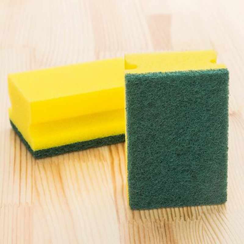 3pcs sponge dishwasher Magic Eraser cleaning cloth melamine cotton sponge  holder brush for Kitchen cleaning tools-in Sponges   Scouring Pads from  Home ... 1b168adaa8d57
