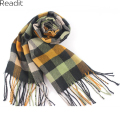Plaid Scarf 2016 men's Fashion Scarf & New European Style Grid Shawl Big Size 190*31CM SC1128