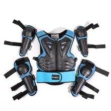 SX082 мотоцикл уход внедорожная броня одежда Детский защитный костюм Спортивный Колено уход локоть