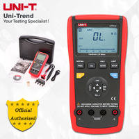 UNI T UT612 100KHz LCR Meter; Frequency/Resistance/Inductance/Capacitor Test Table, Data Storage/Analog Bar Graph/Relative Mode